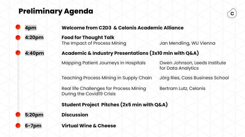 Preliminary agenda roundtable